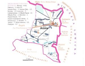 ParafiaJeżów_mapa